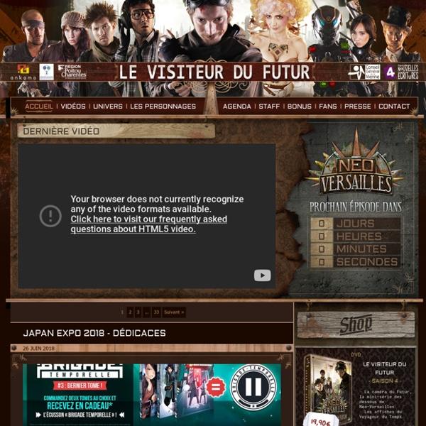 Le Visiteur du Futur » Site Officiel