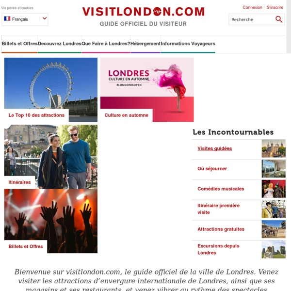 Visitlondon.com - Guide officiel du visiteur