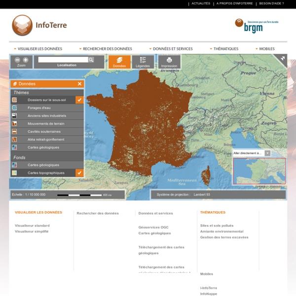 Visualiseur InfoTerre