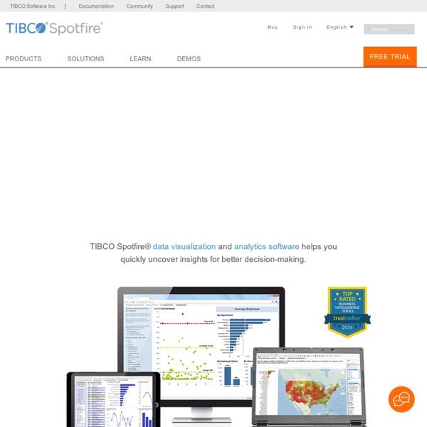 Data Visualization & Analytics Software - TIBCO Spotfire
