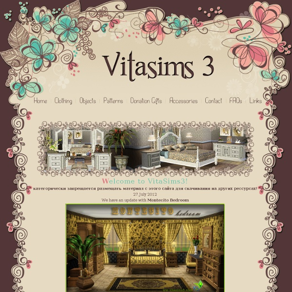 VitaSims 3.Download everything for your Sims3 game!