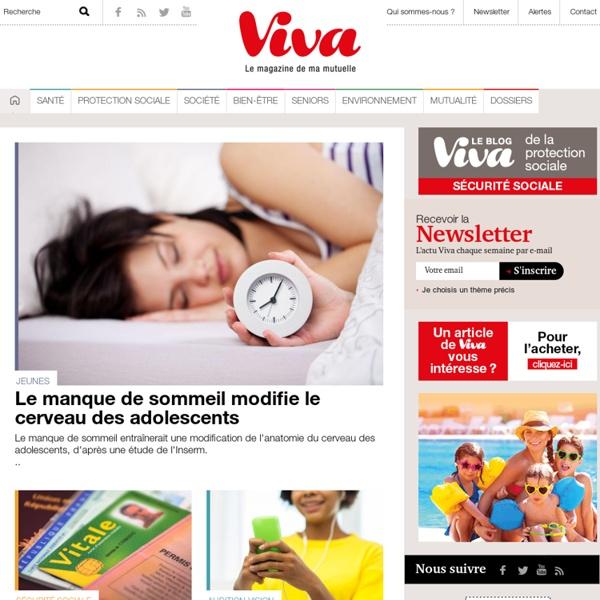 Magazine sant?, mutuelle et social - Viva magazine