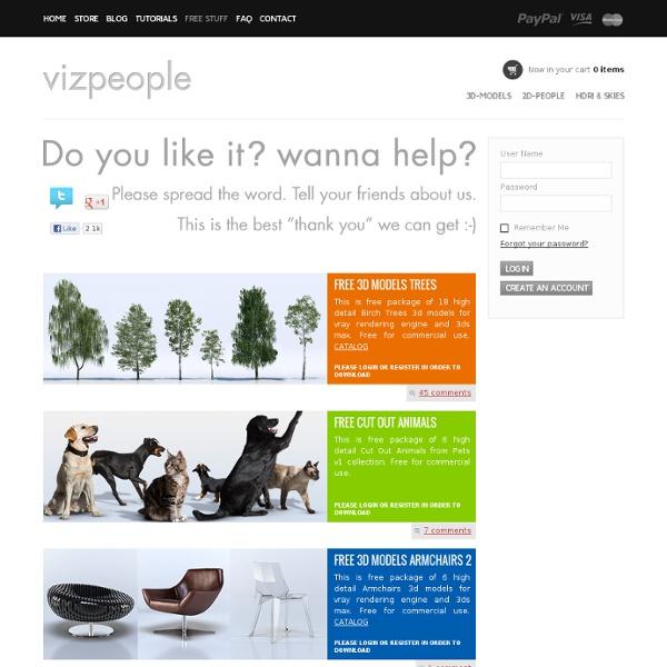 VizPeople - Free Stuff