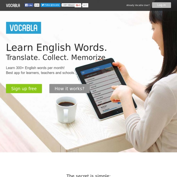Image result for vocabla.com