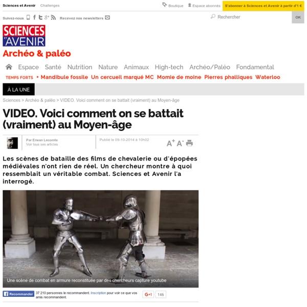 Voici comment on se battait (vraiment) au Moyen-âge - 9 octobre 2014