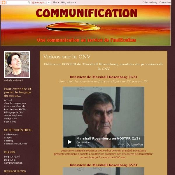 Vidéos sur la CNV