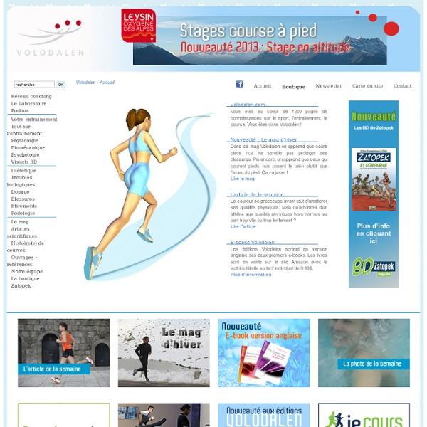 """""""Volodalen.com"""" : l'entraînement à la course à pied"""