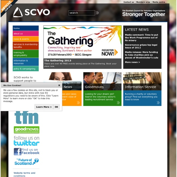 Scottish Council for Voluntary Organisations