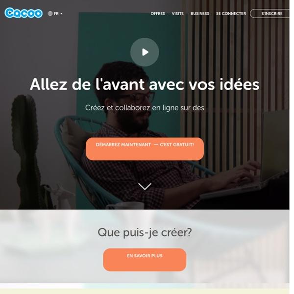 Cacoo - Créez des schémas en ligne et collaborez en temps réel