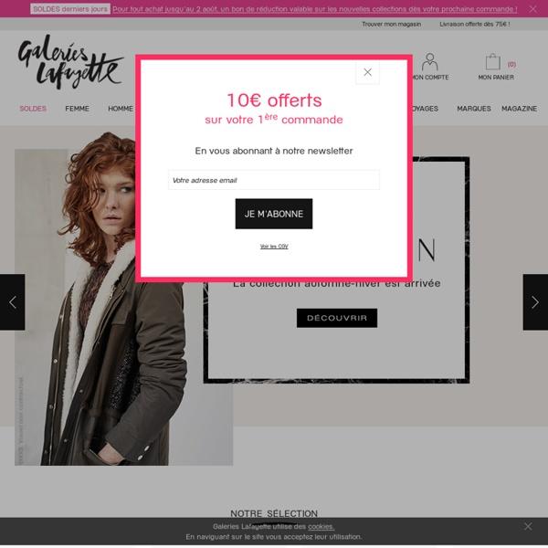 Votre magasin Mode en ligne