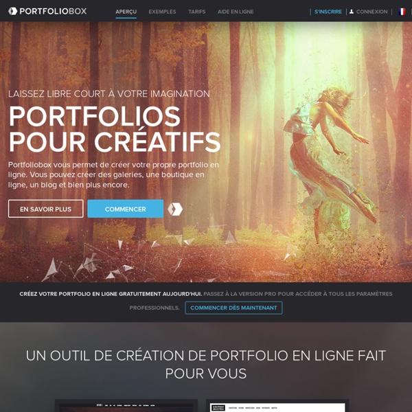 Votre portfolio en ligne