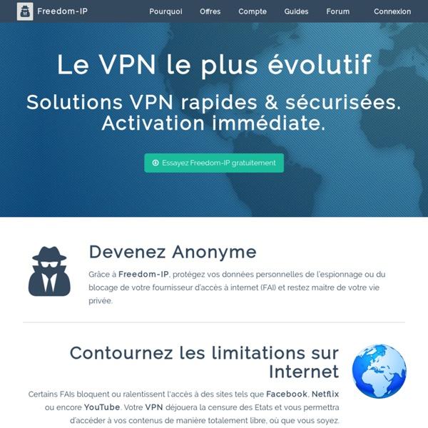 Freedom-IP VPN Gratuit et Communautaire