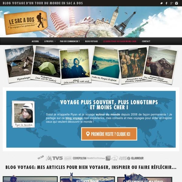 Tour du monde - Blog voyage et carnet d'un globetrotter en sac à dos