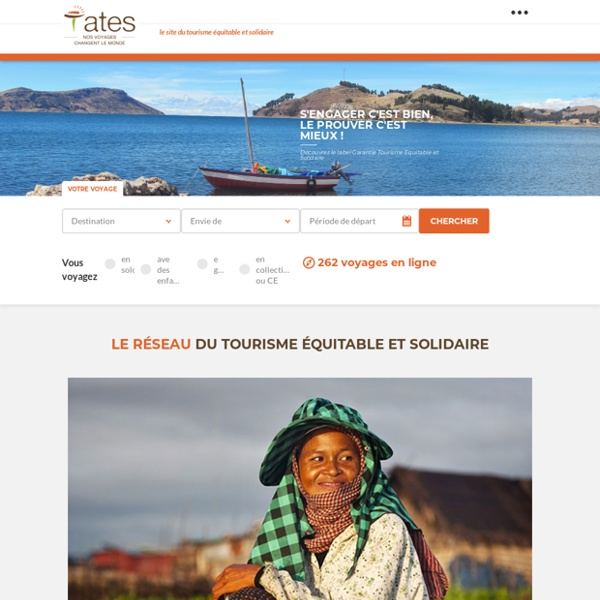 Premier réseau de tourisme équitable & solidaire