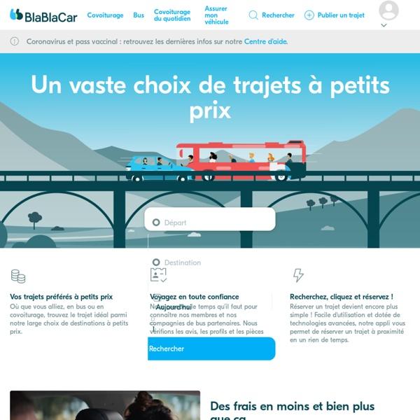 BlaBlaCar - Le site du covoiturage en Europe