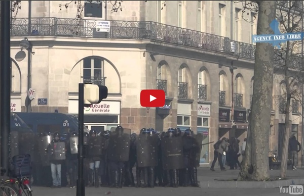 Que s'est-il vraiment passé samedi 22 février à Nantes #NDDL ? Reportage de l'Agence Info Libre