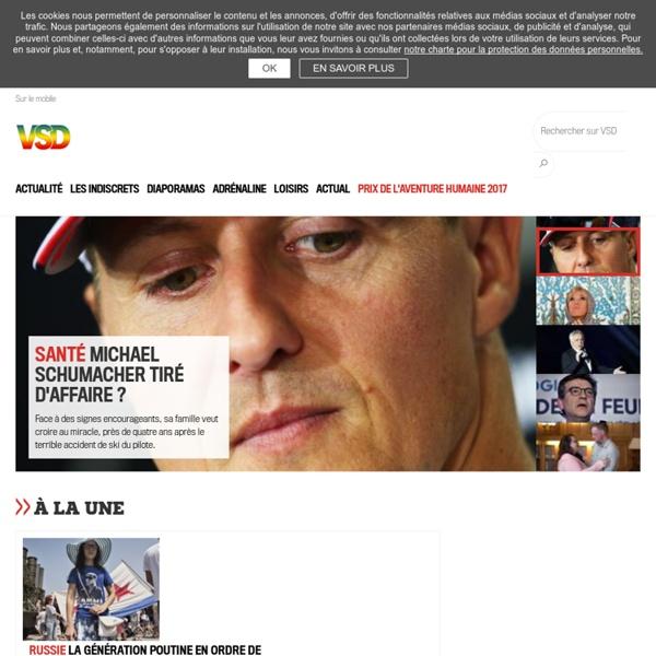 Actualité en France et à l'international - VSD