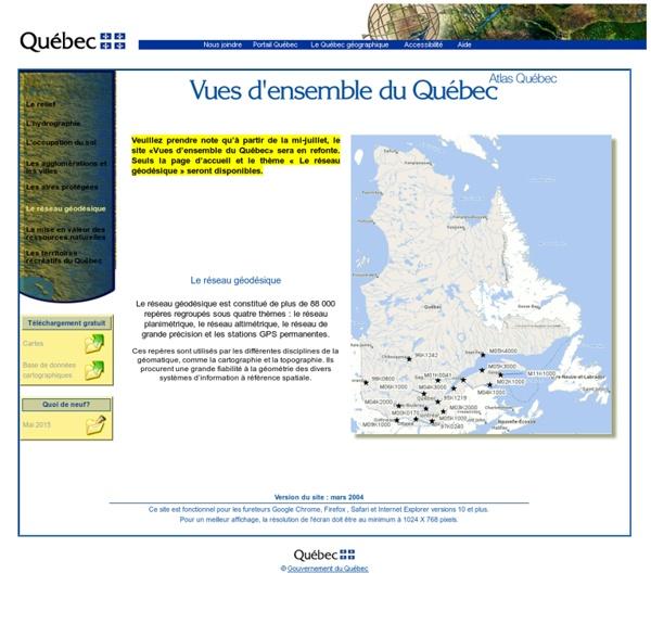 Québec - Atlas du Québec
