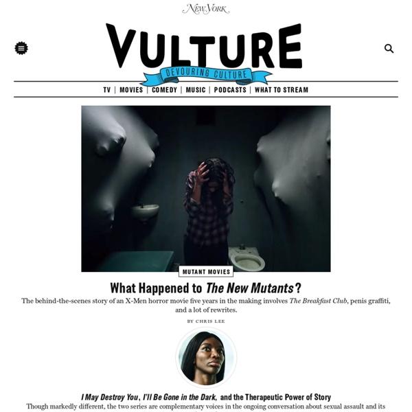 Vulture - Entertainment News - Celebrity News, TV Recaps, Movies, Music, Art, Books, Theater