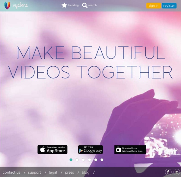 Vyclone – friends, cameras, action