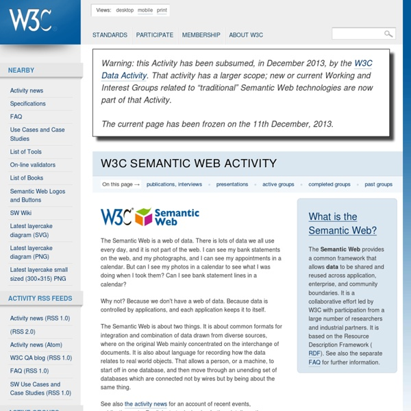 C Semantic Web Activity