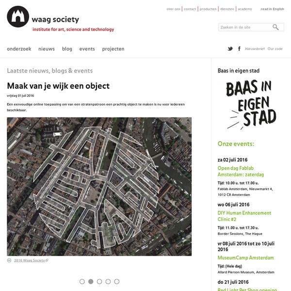 Open Wetlab workshops - Waag Society