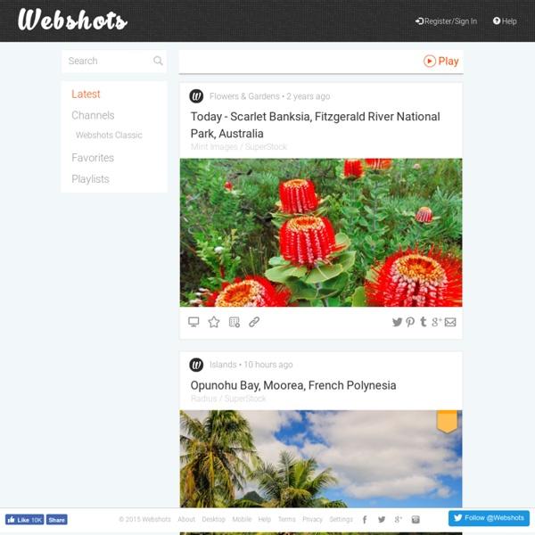 Webshots - Photo Sharing, Free Wallpaper and Free Screensavers