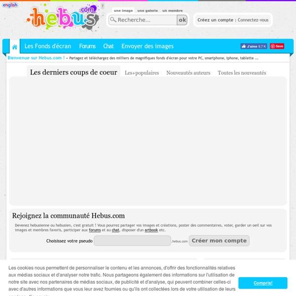 300 000 Wallpapers, Photos et fonds d'écran sur hebus.com - Fond écran manga, cinéma, nature, jeux vidéo etc. de qualité !