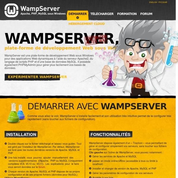 PHP5 Apache MySQL sur Windows - WAMP5