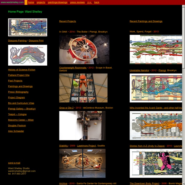 Ward Shelley Homepage