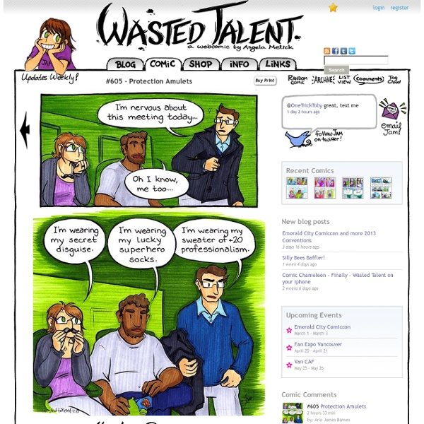 Wasted Talent - a webcomic by Angela Melick