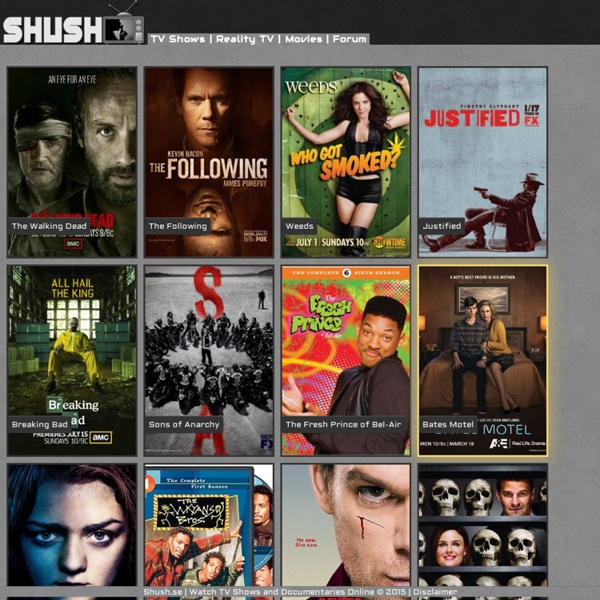 Watch TV Shows and Documentaries Online