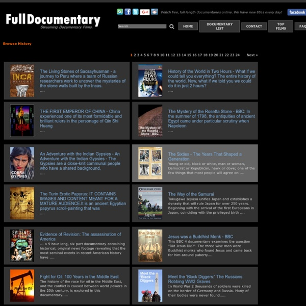 Watch free documentary films &videos