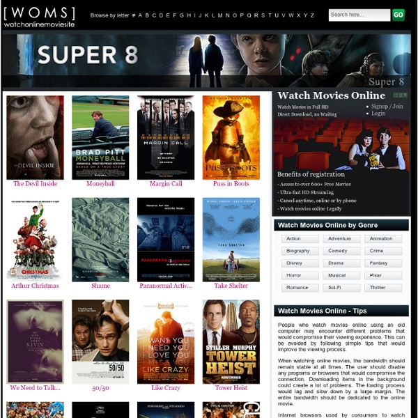 Watch movies online and free movies online