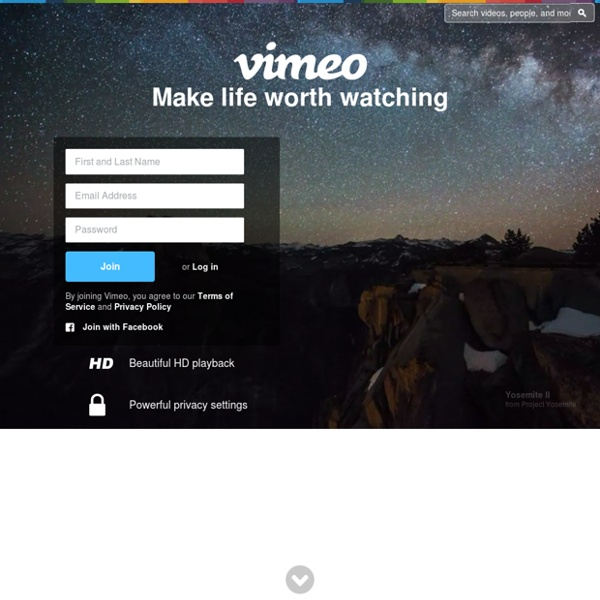 Vimeo, Video Sharing For You | Pearltrees