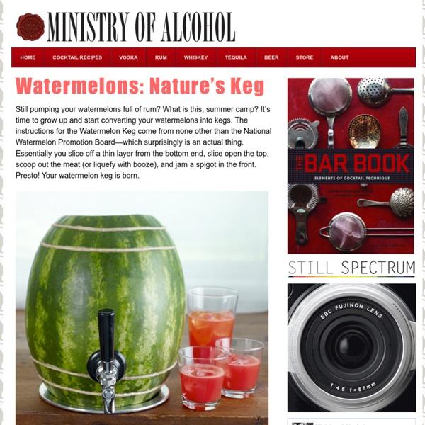 Watermelons: Natures Keg
