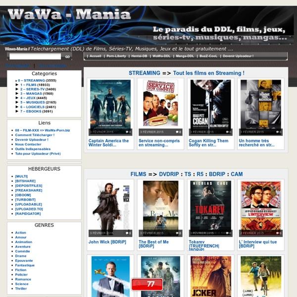 Films, Megaupload, Fileserve, Filesonic, Uploadto, …