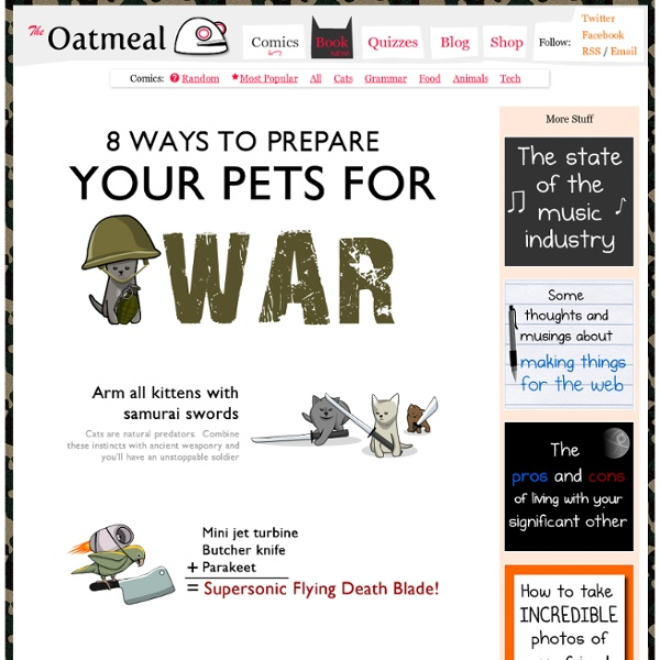 8 Ways to Prepare Your Pets for War