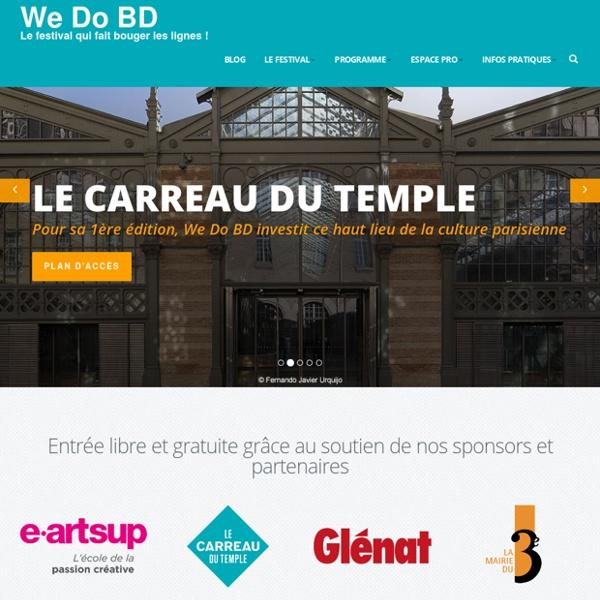 We Do BD / Festiblog - 10 et 11 octobre 2015