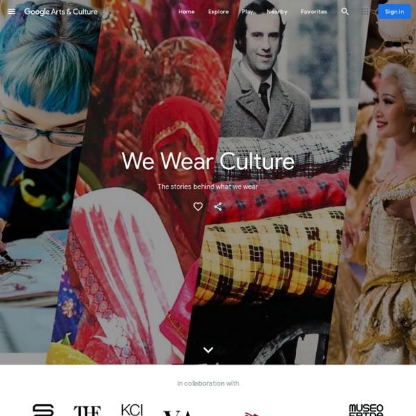 Indossiamo la cultura - Google Arts & Culture