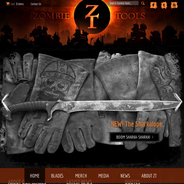 Zombie Tools: Accessories for the Apocalypse