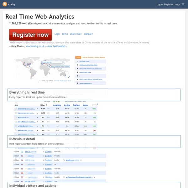 Web Analytics in Real Time