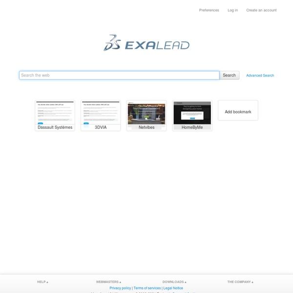 Web Search - Exalead