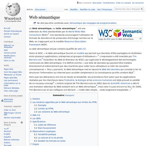 Web sémantique