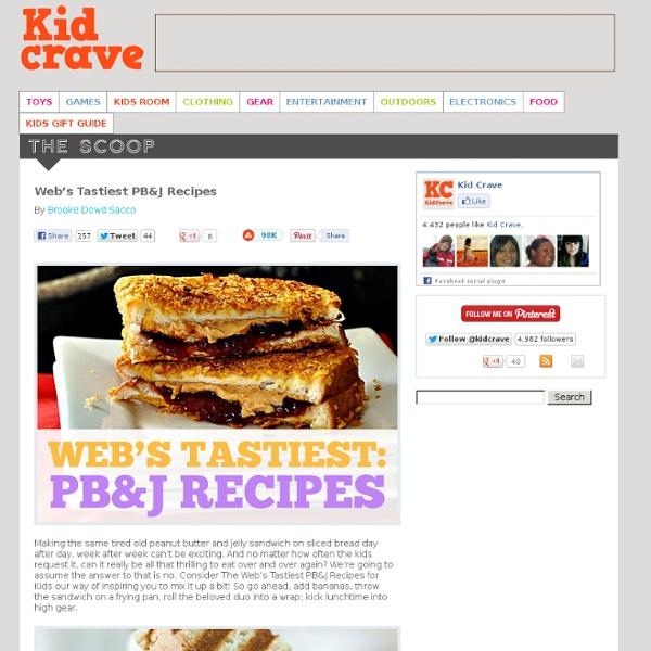 Web's Tastiest PB&J Recipes