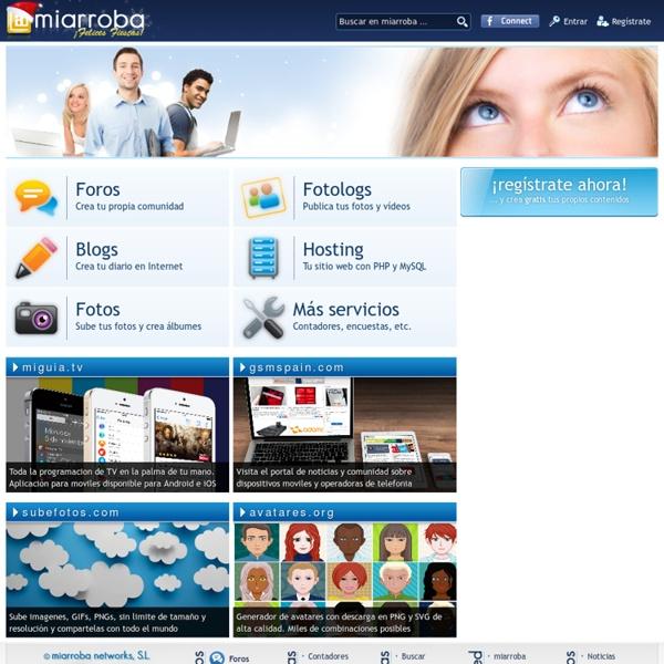 Servicios para webmasters - miarroba.com