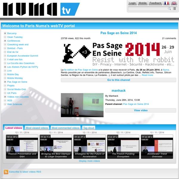 La WebTV de La Cantine