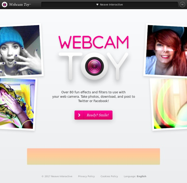 Pictures webcam toy take photos online with over 60 fun camera effects