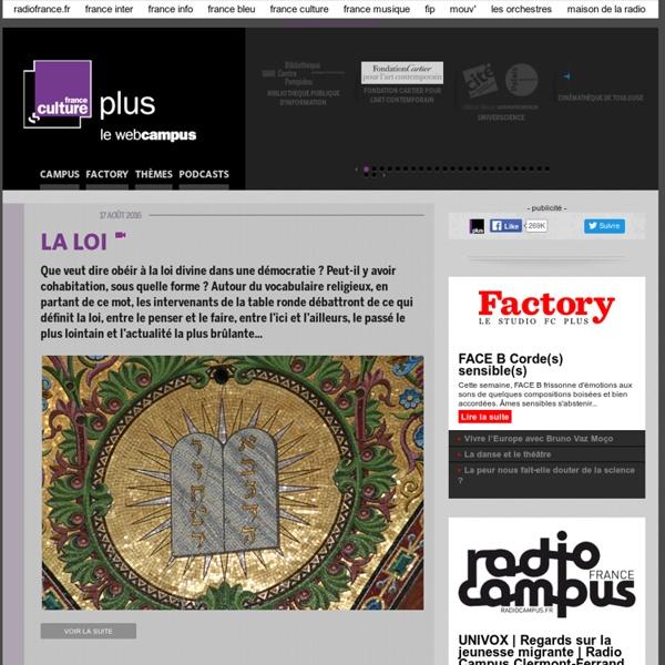 Webcampus : France Culture Plus
