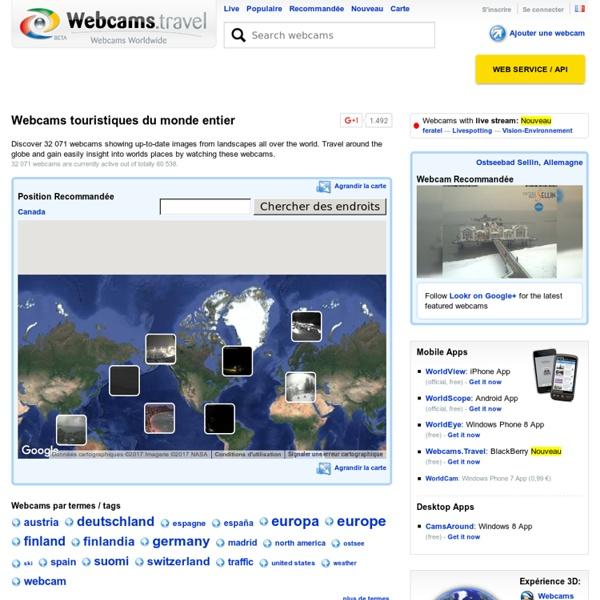 Fr.webcams.travel — Webcams touristiques du monde entier